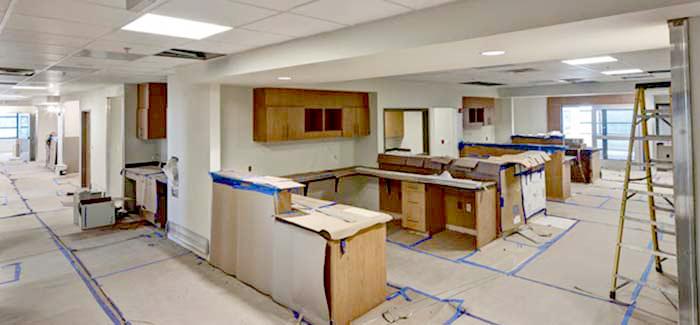 nursing reception area
