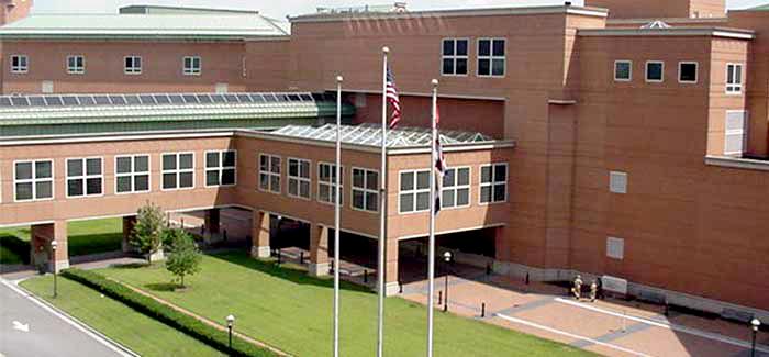 Portsmouth Naval Hospital Entrance