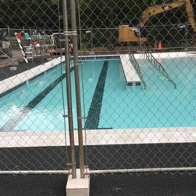 camp greentop pool completion